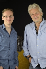 Dirk Ballarin and the founder of Dire Straits David Knopfler the brother of Mark Knopfler
